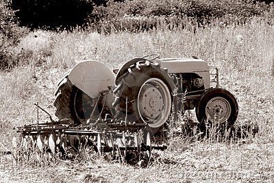 Old Tractor. 1