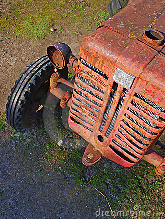 Free Old Tractor Stock Image - 21298331