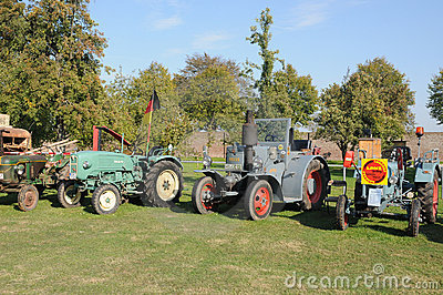 Old tractor Editorial Stock Image