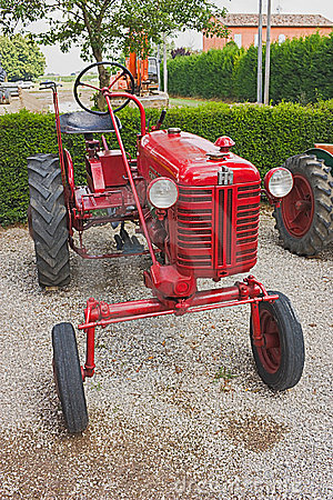 Old tractor Farmall Editorial Photography