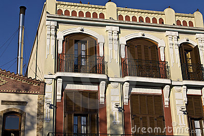 Old traditional house at Komotini in Greece