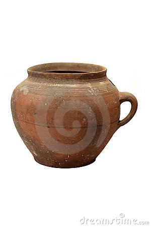 Old traditional pot