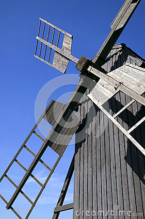 Old traditional windmill