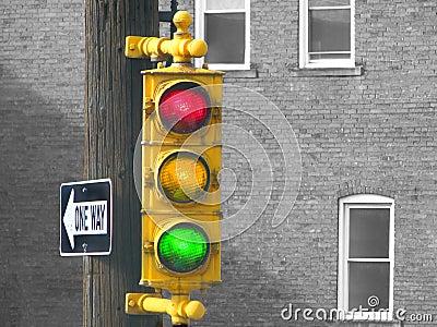 Old Traffic Light