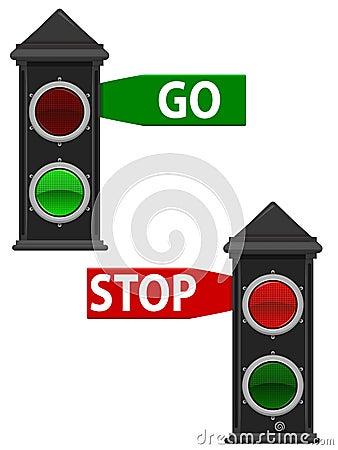 Old Traffic Lights