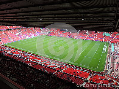 Old Trafford Editorial Stock Photo
