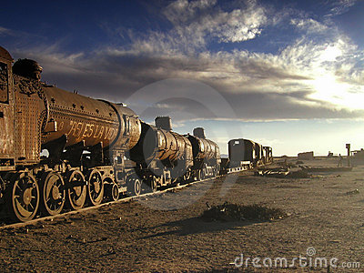 The Old Train Royalty Free Stock Photography - Image: 6417097