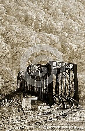Free Old Train Bridge Stock Photo - 17144630