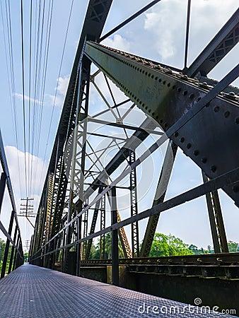 Free Old Train Bridge Stock Photography - 37447402