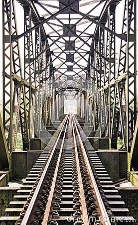 Free Old Train Bridge Stock Images - 37448254