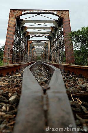 Free Old Train Bridge Stock Image - 483761
