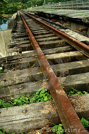 Old Train Tracks