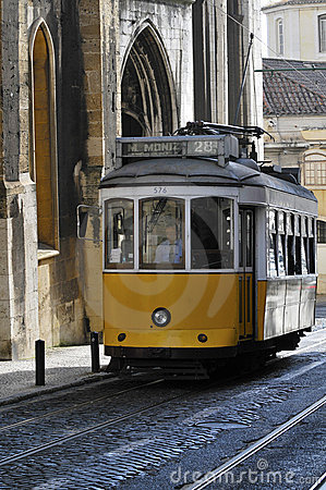 Free Old Tram In Lisbon Royalty Free Stock Photos - 15412198