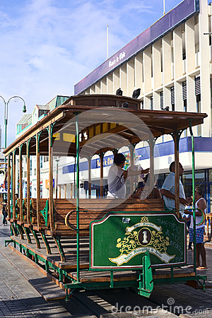 Free Old Tram Waggon On Plaza Prat Main Square In Iquique, Chile Royalty Free Stock Photo - 51763615