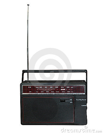 Free Old Transistor Radio Royalty Free Stock Photography - 15406077