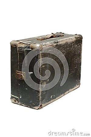 Free Old Travel Bag Royalty Free Stock Image - 4005206