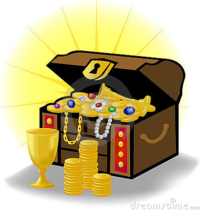 Free Old Treasure Chest/eps Stock Photography - 11516702