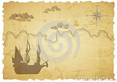 Old treasure map