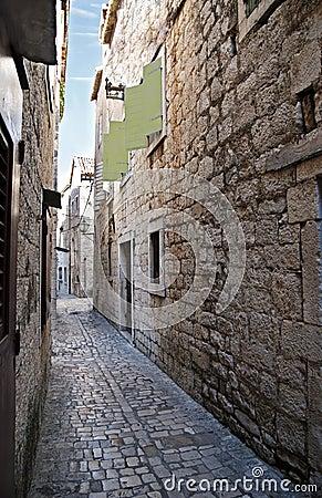 Old Trogir street
