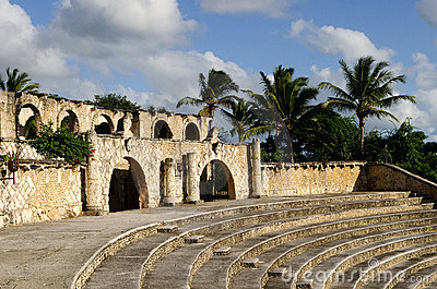 Old tropical amphitheatre