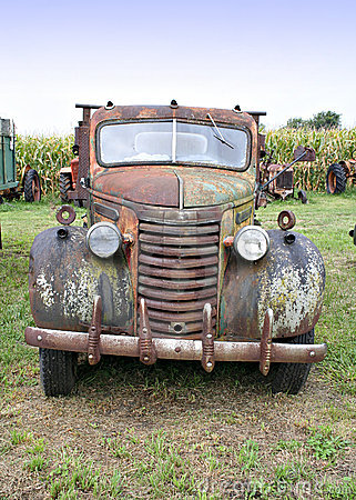 Old Truck Front