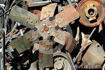 Old truck motor