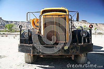 Old truck in Utah