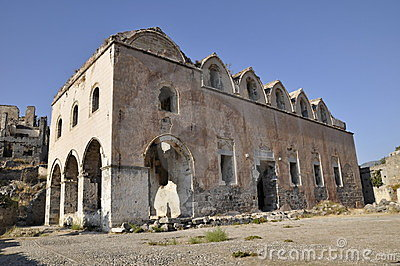 Old Turkish church ruins