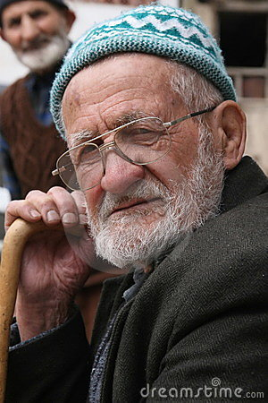 Old turkish man Editorial Image