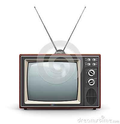 Free Old TV Royalty Free Stock Photography - 39523047