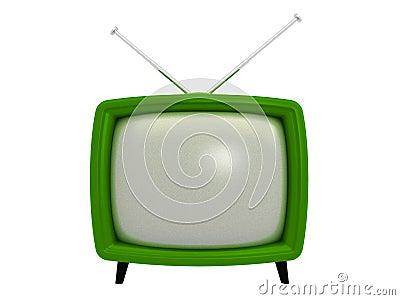 Old TV | 3D