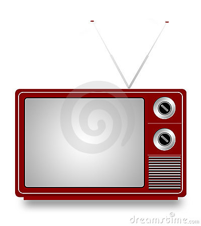 Free Old TV Royalty Free Stock Photography - 8241927