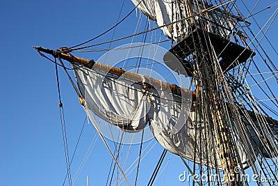 Old type schooner