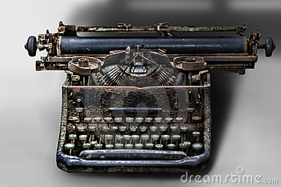Old type-writer