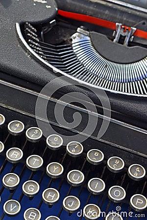 Old typerwriter