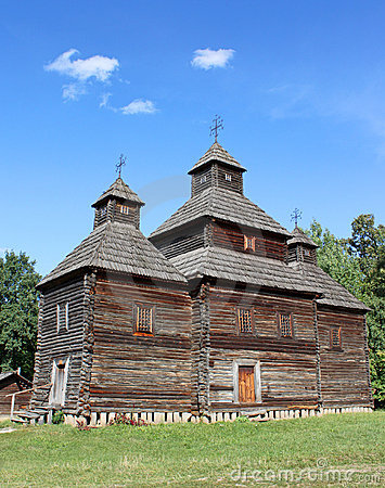 Free Old Ukrainian Church Stock Photos - 15992353