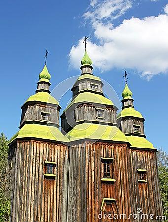 Free Old Ukrainian Church Stock Photography - 16007122