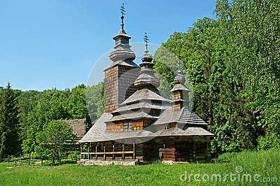 Old Ukrainian church