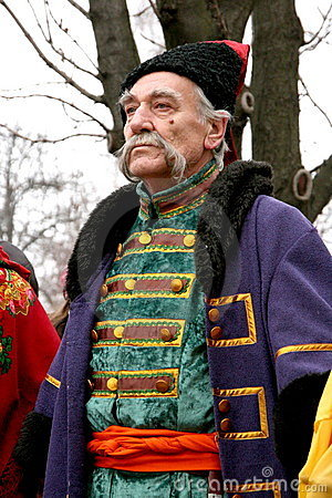 Old ukrainian Cossack 14