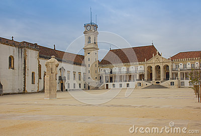 Old university of Coimbra, Portugal