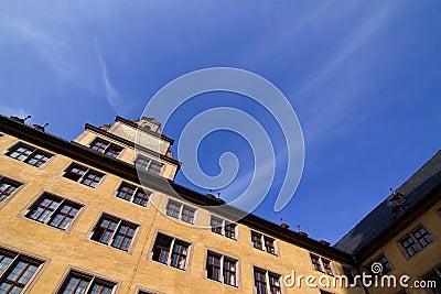 Old university, Wuerzburg, Bavaria