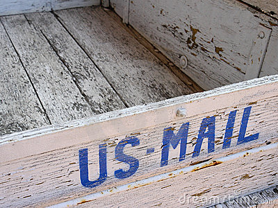 Old US mail box