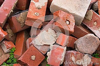 Old Used Bricks
