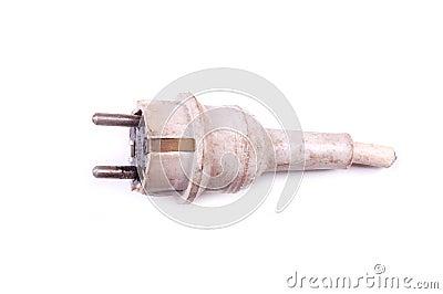 Old used plug