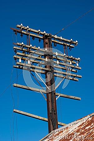 Old Utility Pole