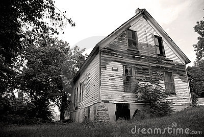 Old vacant house