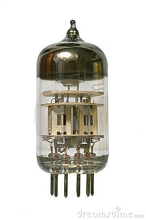 Free Old Vacuum Radio Tube. Stock Photos - 4020433