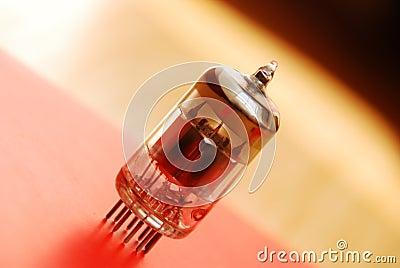 Old vacuum tube
