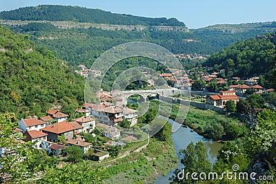 Old Veliko Tarnovo panorama,Bulgaria