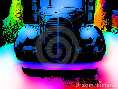 Old Vibrant Truck